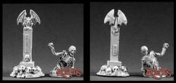 Reaper Miniatures 25mm/28mm Fantasy 02043 Undead Rising
